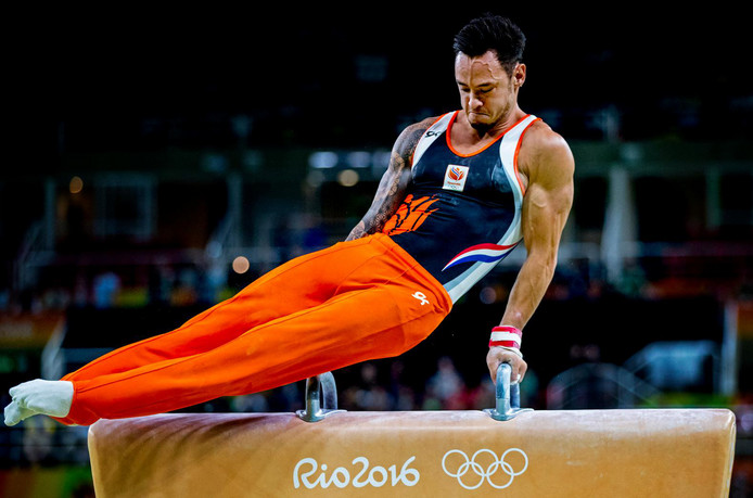 Bart Deurloo in actie op de Olympische Spelen. © Pim Ras